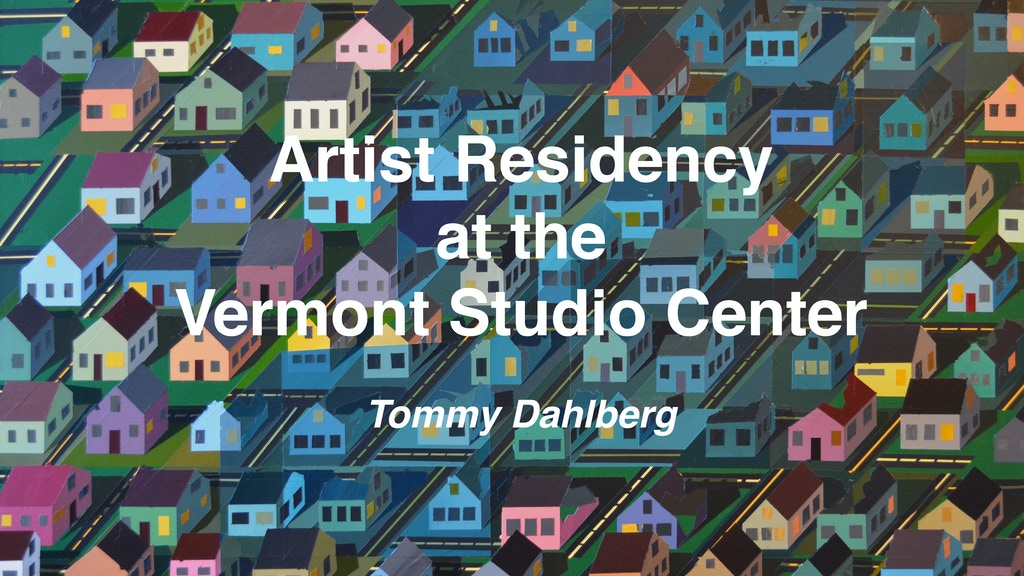 Artist Residency at the Vermont Studio Center project video thumbnail