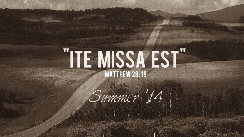 """Ite Missa Est"" a new album by Pasquale Talarico project video thumbnail"