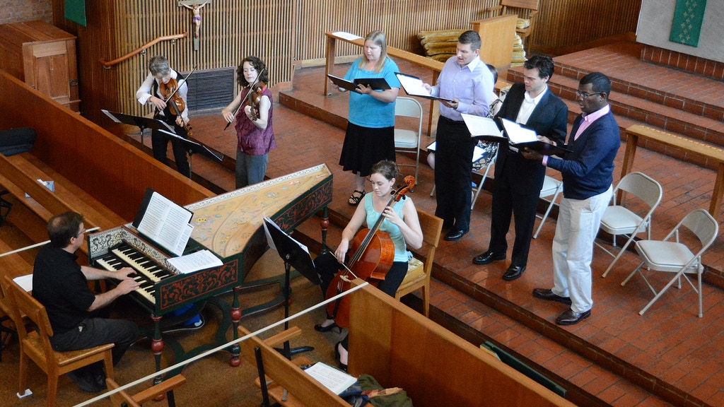 World-premiere recording of Fischer Vespers project video thumbnail