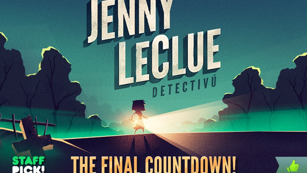 Jenny LeClue - A Handmade Adventure Game project video thumbnail