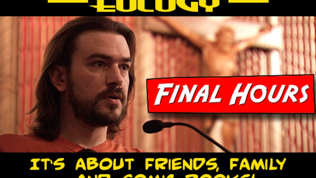 """""""Four Color Eulogy"""" project video thumbnail"""