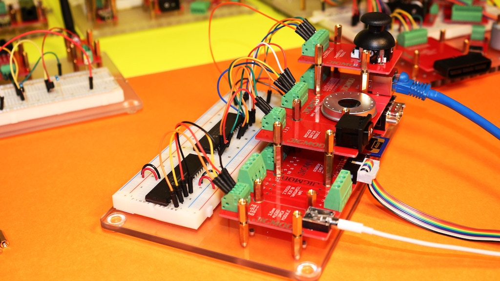 JIGMOD Electronic Circuit Building System project video thumbnail