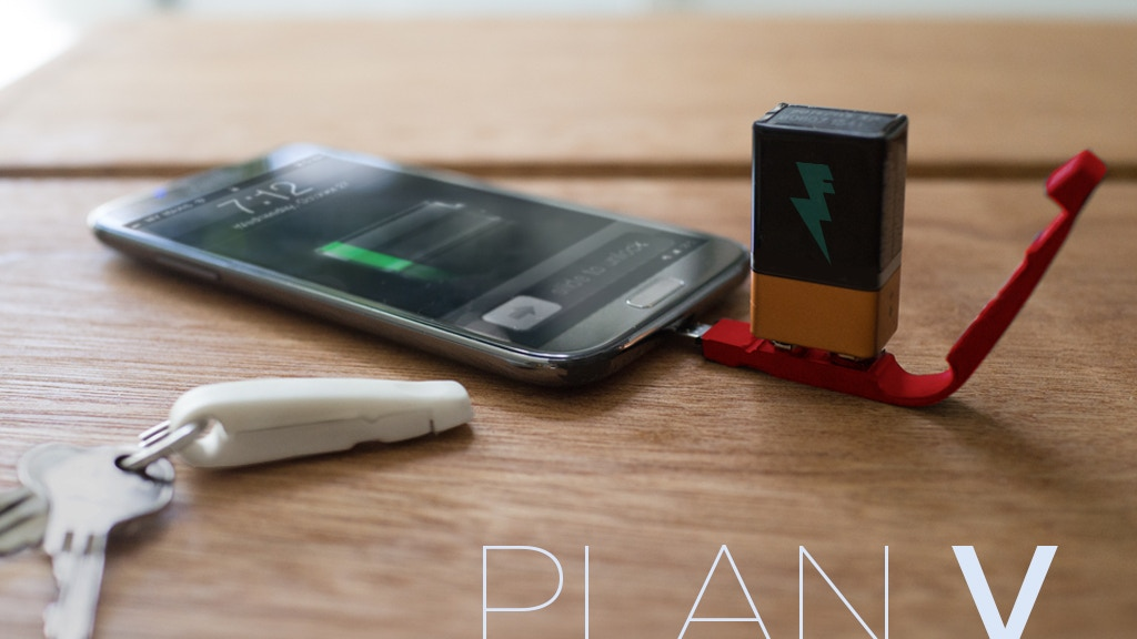 Plan V - The failsafe charger you can't leave home without project video thumbnail