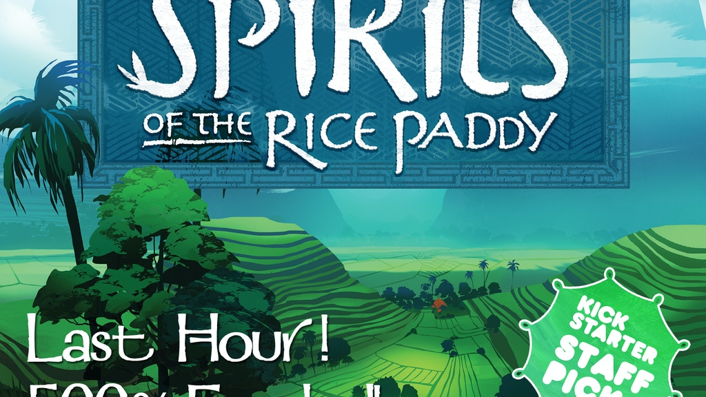 Spirits of the Rice Paddy Board Game project video thumbnail