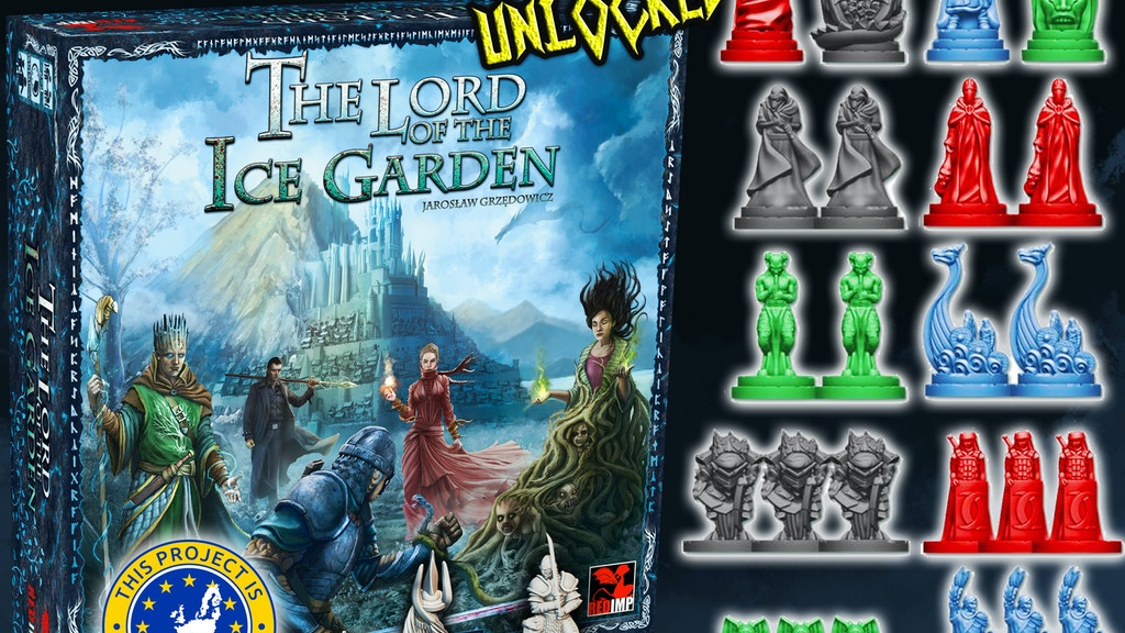 The Lord of the Ice Garden - strategic board game project video thumbnail