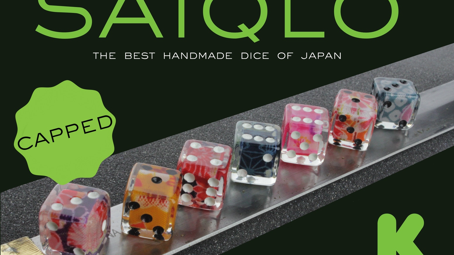 The best handmade dice from Japan!