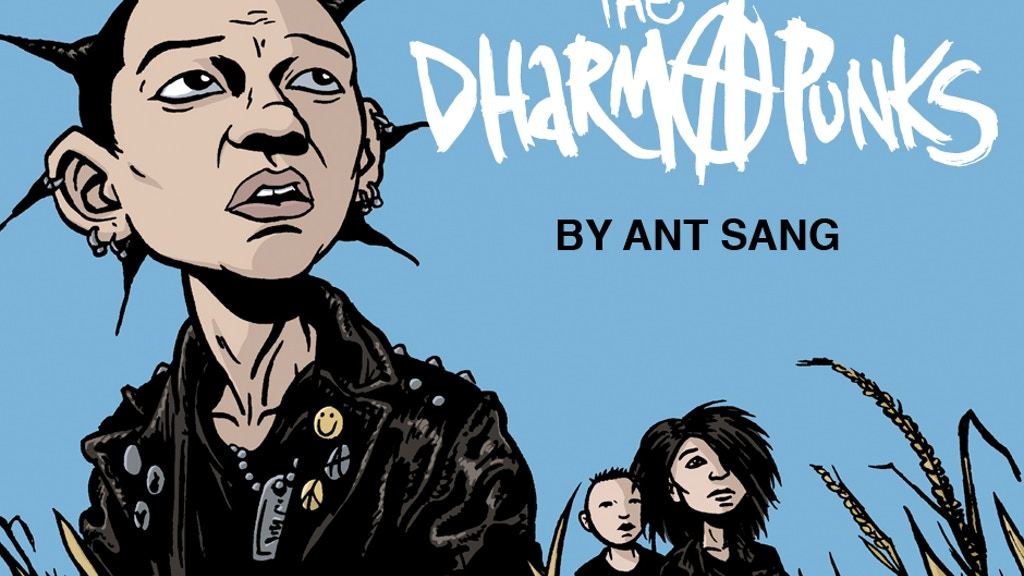 The Dharma Punks Graphic Novel project video thumbnail