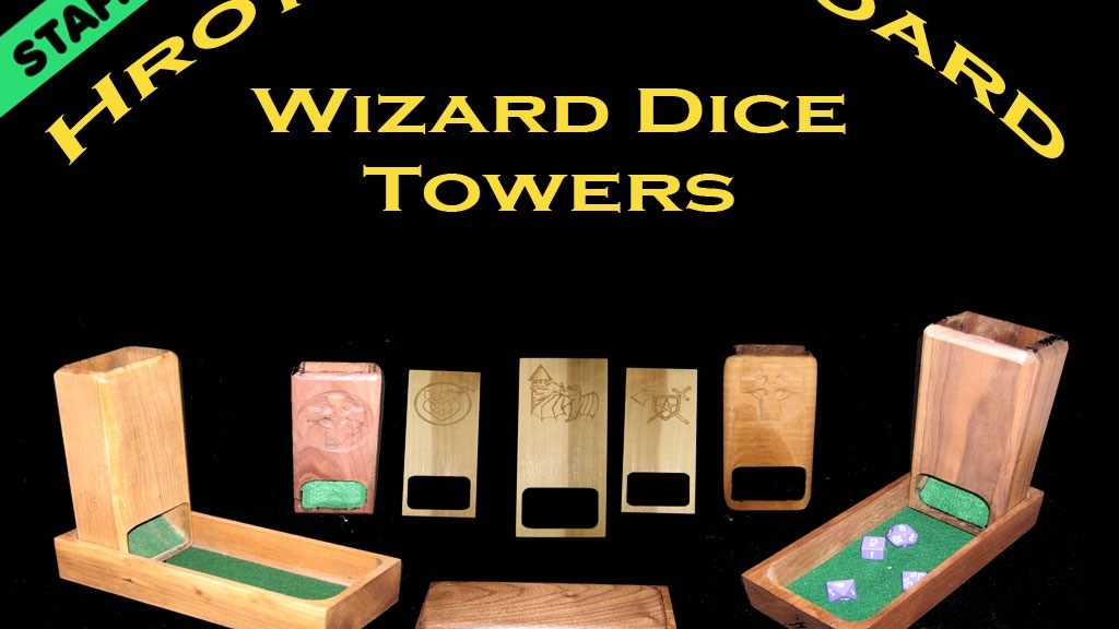 Hrothgar's Hoard Dice Towers project video thumbnail
