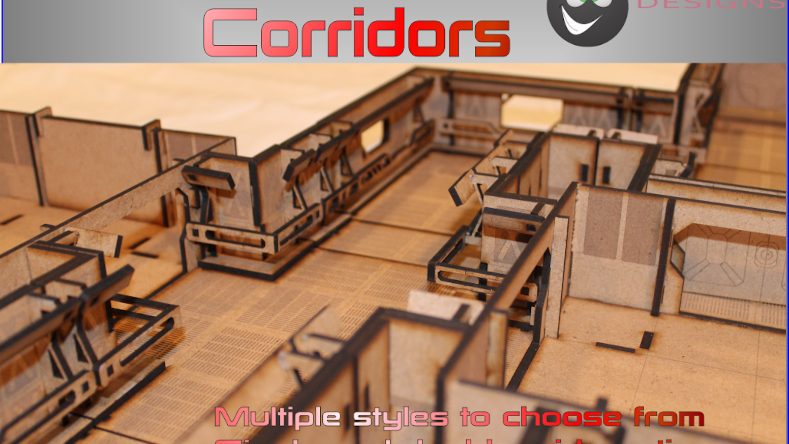 ae136f36a46cb Corridor Sets From Sci Fi to Steampunk Available by Al Maguire ...