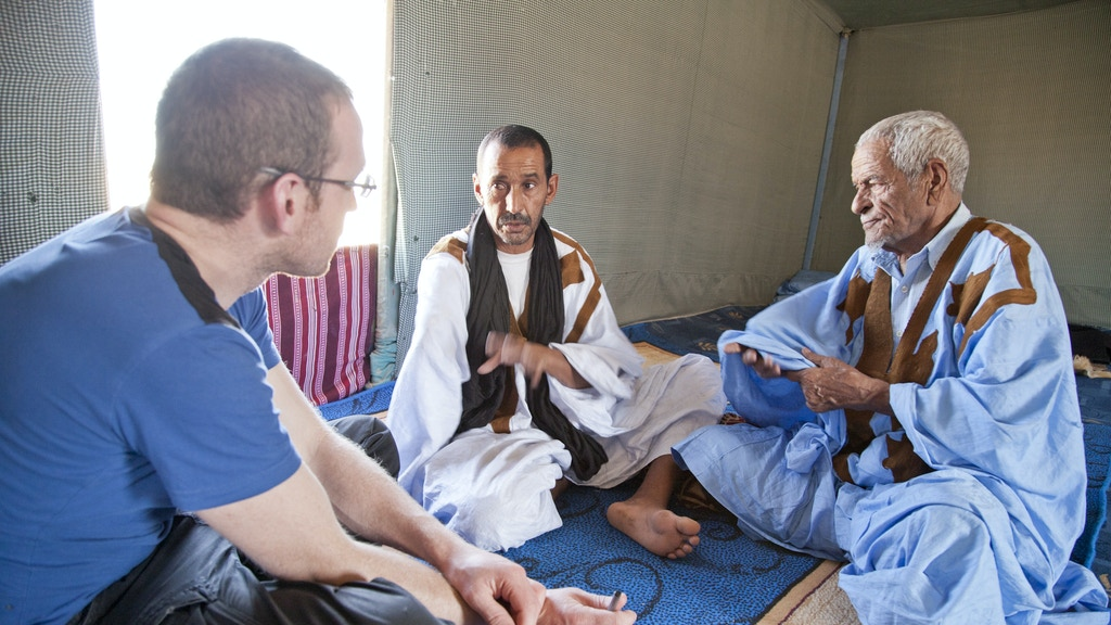 Settled Wanderers: translated Saharawi poetry by Sam Berkson project video thumbnail