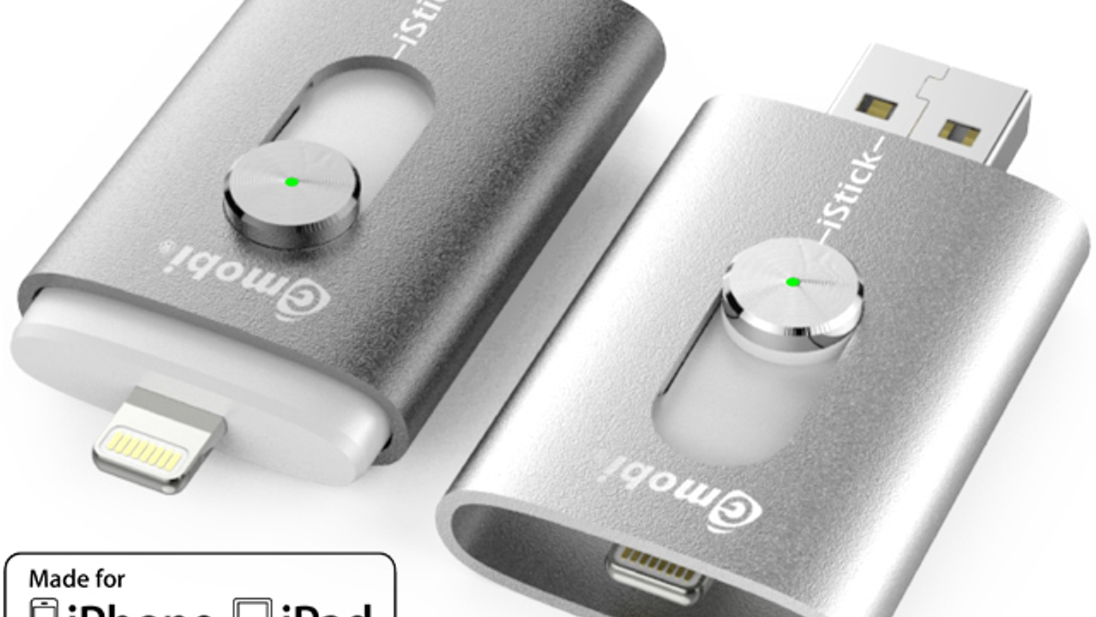 iStick™: USB Flash Drive with Lightning for iPhone and iPad by HYPER ...
