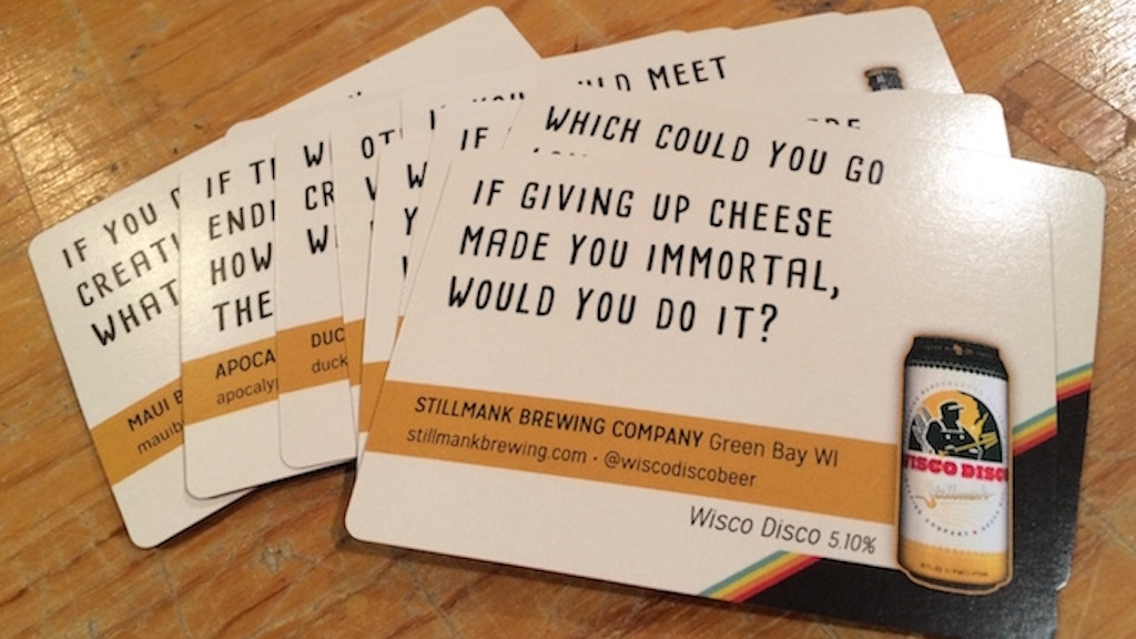 Thinking & Drinking: 300+ Cards, Questions, and Craft Beers project video thumbnail