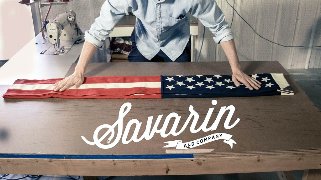Savarin & Co. - Wool American Flags, Made in the USA project video thumbnail