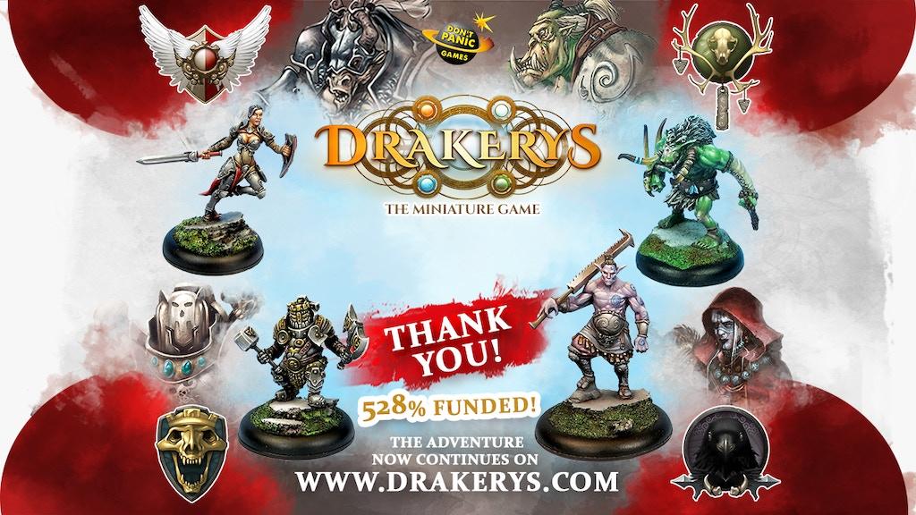 Drakerys, the miniature game project video thumbnail