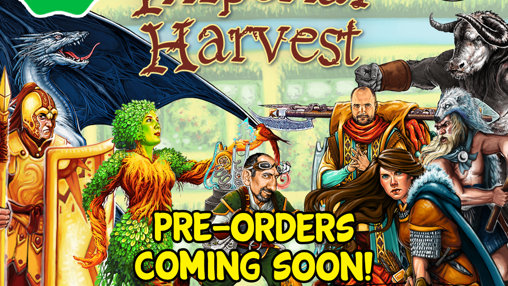 Imperial Harvest - A Strategic Pocket-Game for 2+ Players project video thumbnail