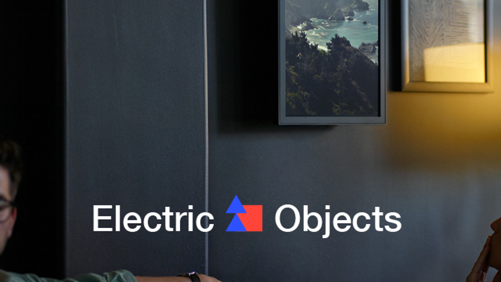 Electric Objects: A Computer Made for Art by Electric Objects ...
