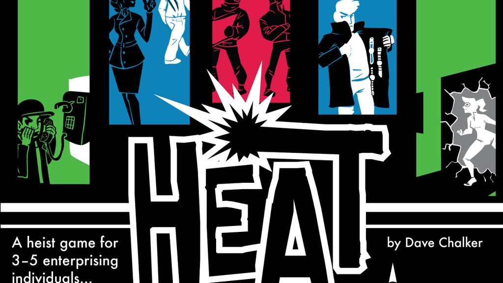 Heat: A Heist Card Game project video thumbnail