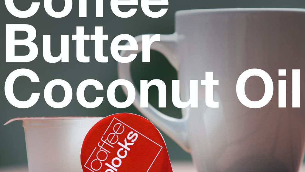 COFFEE BLOCKS - Instant Butter Coffee, Just Add Hot Water project video thumbnail