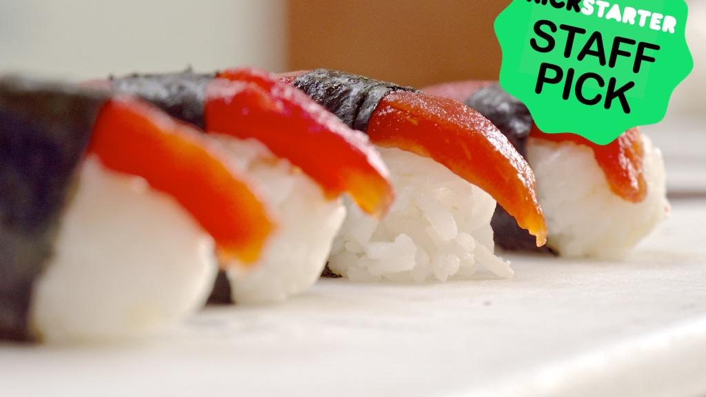 Tomato Sushi | Sustainable Vegan Tuna project video thumbnail