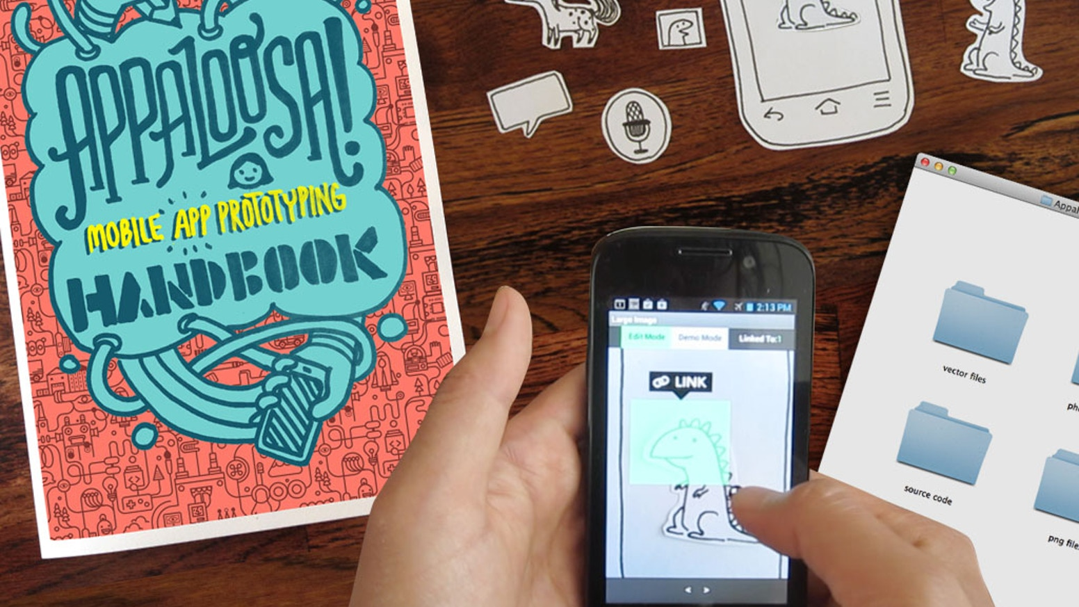APPALOOSA! Mobile App Prototyping Kit for Curious Grrls  by