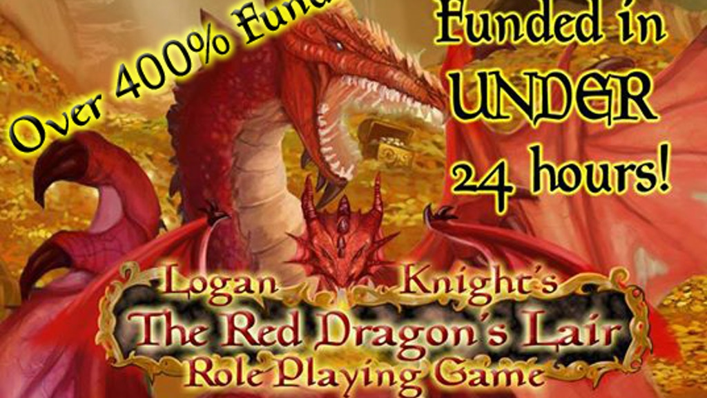 Red Dragon's Lair Role Playing Game & Adventure Card Game project video thumbnail