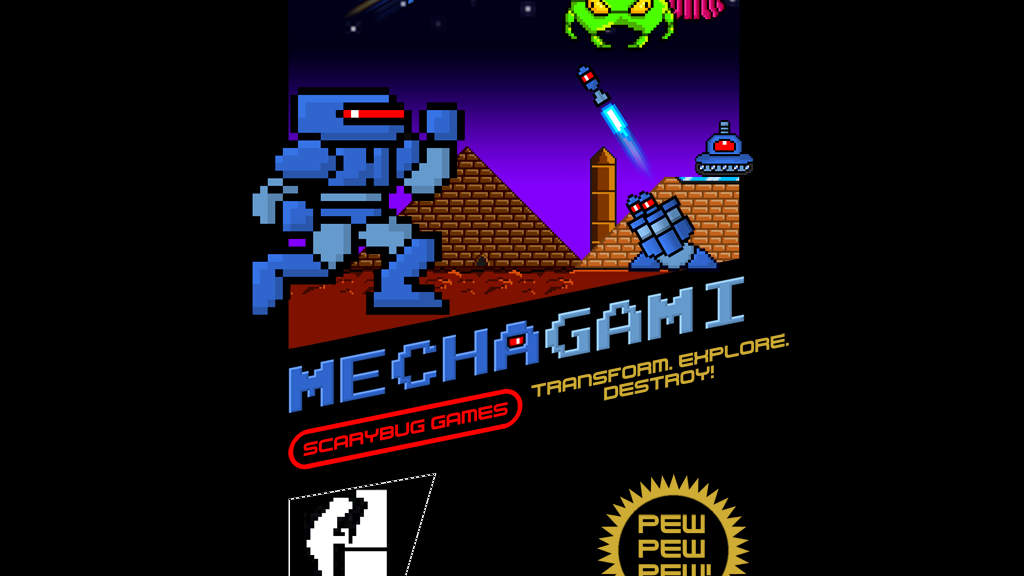 Mechagami project video thumbnail