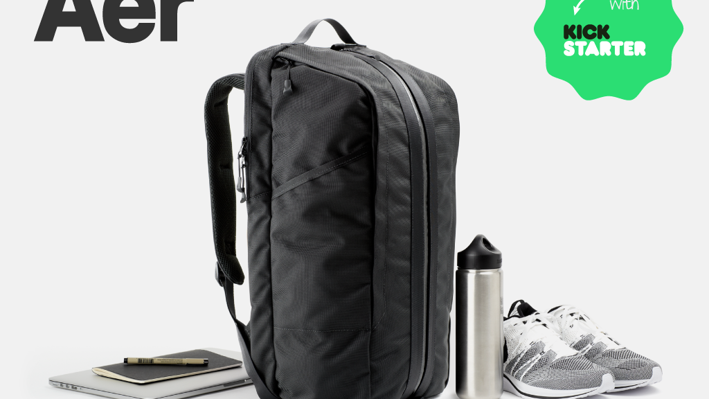 25864ba44f2 Aer Duffel Pack  The Modern Office and Gym Bag project video thumbnail