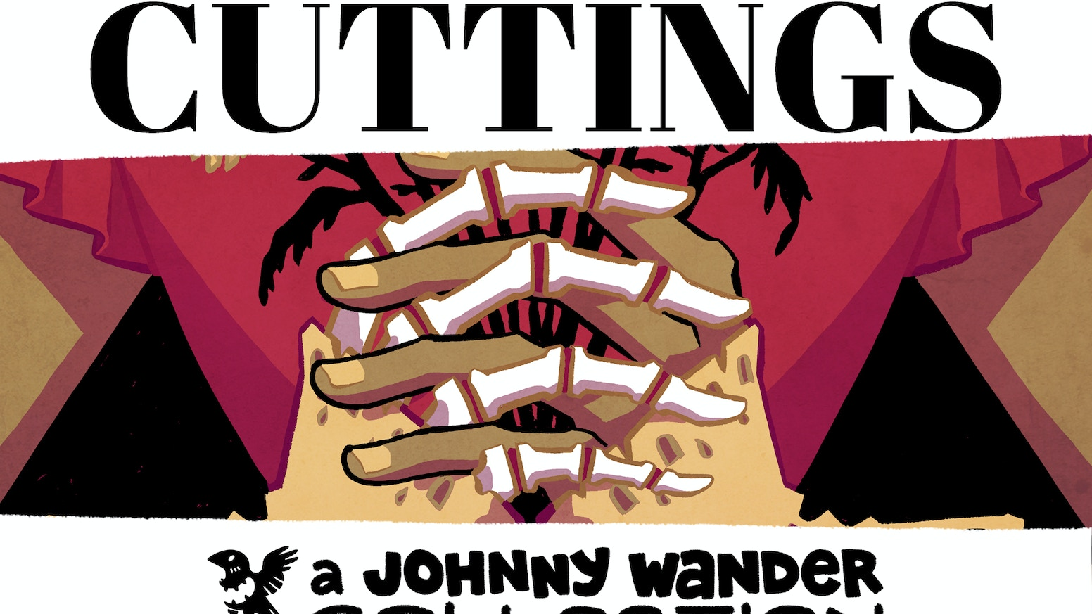 CUTTINGS is a striking new hardcover collection that includes color fiction Johnny Wander shorts & never before seen art from Yuko Ota!