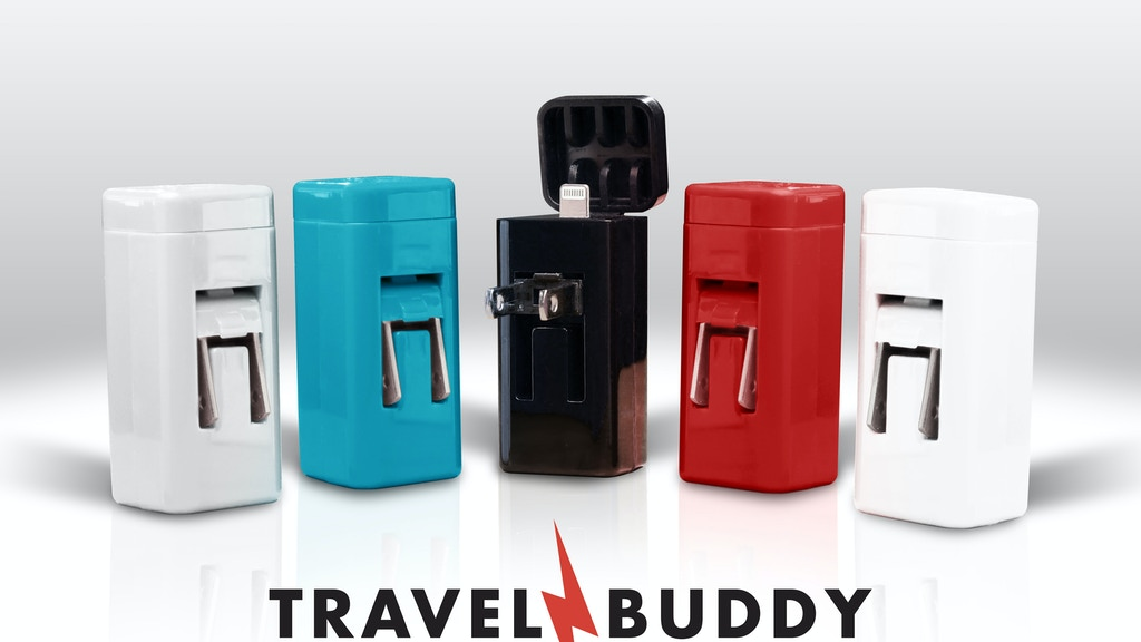 TravelBuddy.The World's Smallest Fastest Smartphone Charger! project video thumbnail