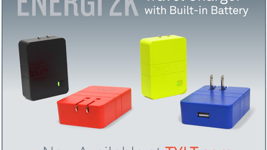 Worlds Most Affordable Wall Charger with Battery by TYLT project video thumbnail
