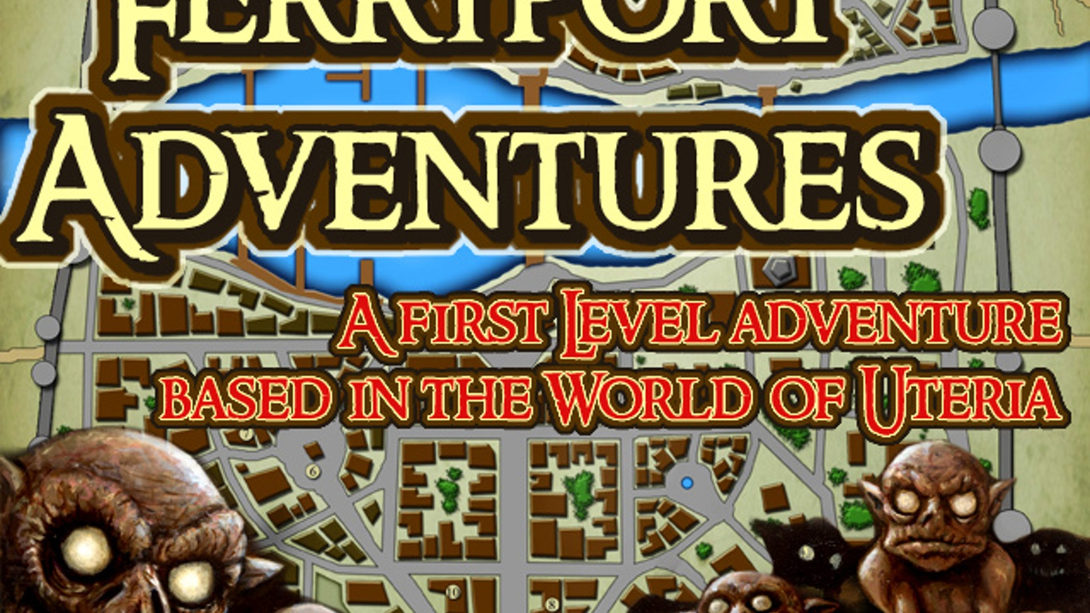 Help fund a deluxe printed version of the Ferryport Adventures, a 1st level Pathfinder compatible adventure and city guide.