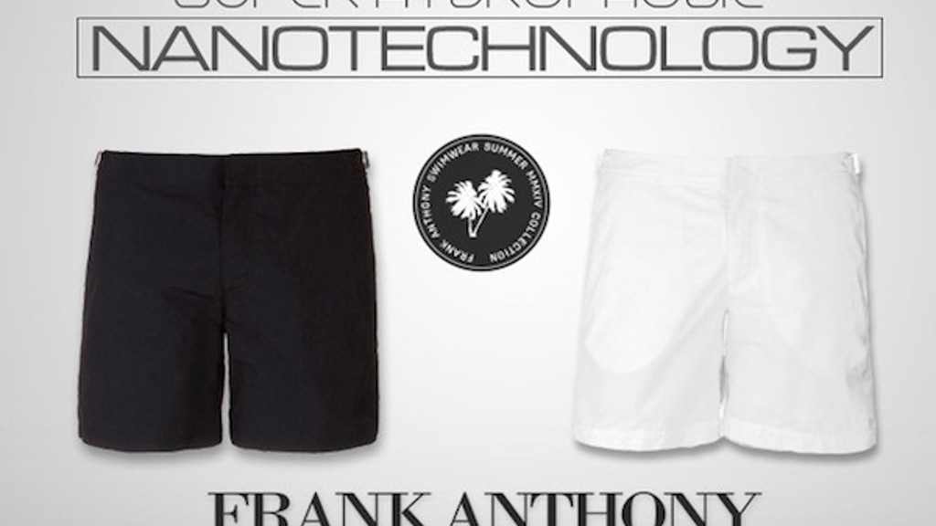 Frank Anthony: Shorts That Don't Get Wet project video thumbnail