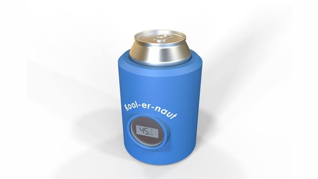 Koolernaut digital beer insulator and chiller by dave the for Food bar brecht