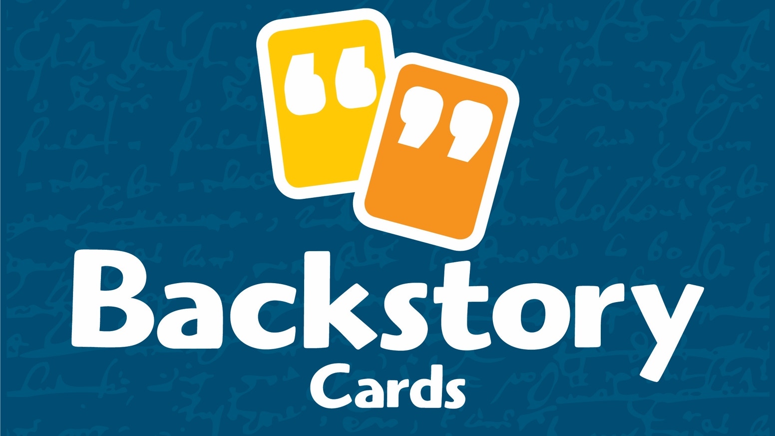 Backstory Cards help you and your friends create vibrant backstories for roleplaying games, no matter the system or genre.