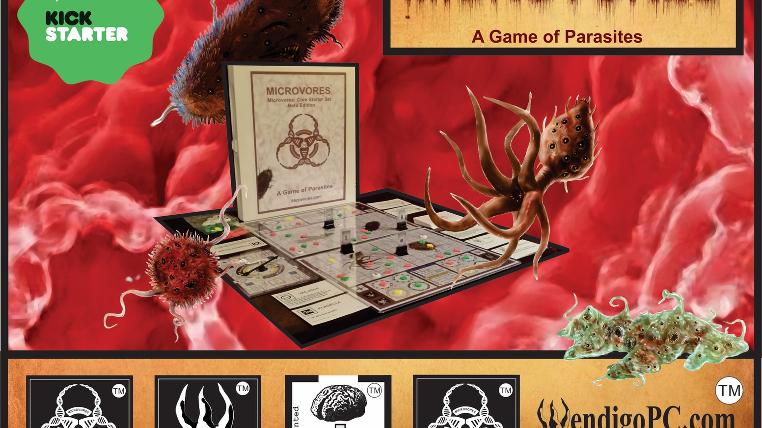 What will your strategy be to survive as a microorganism? Hunt & Gather, Evolve, Mutate, Proliferate, or die trying!