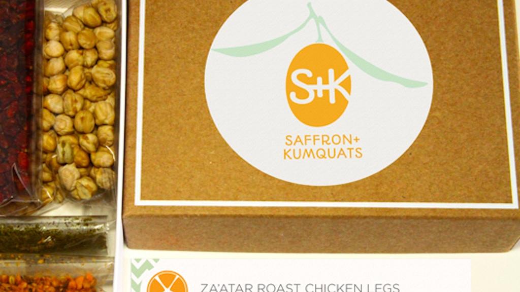 Foodie Subscription Box from Saffron + Kumquats project video thumbnail