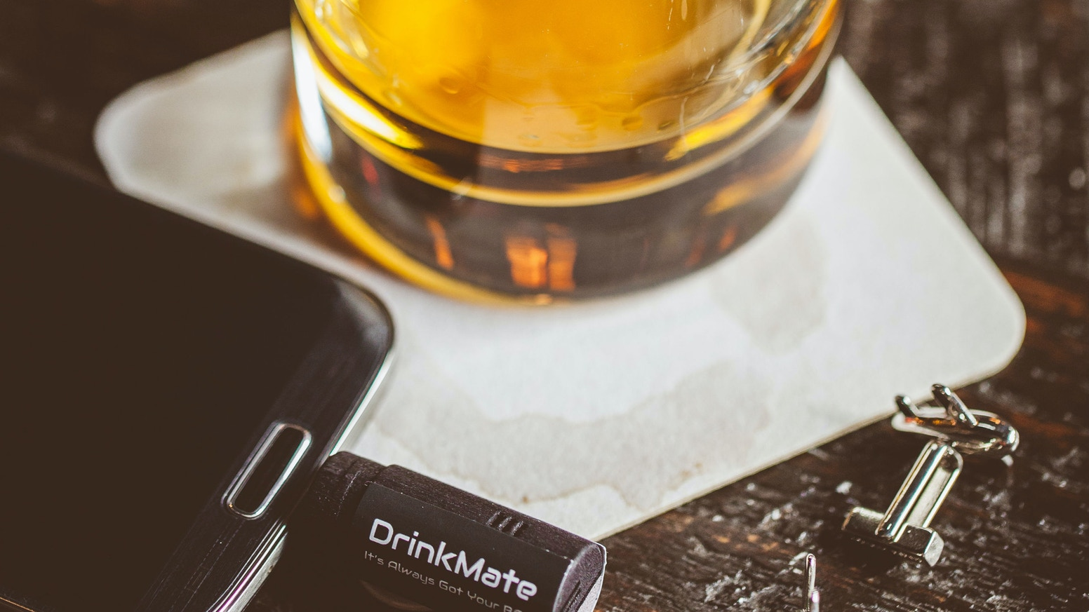 Meet DrinkMate, the tiny breathalyzer that plugs into your phone!