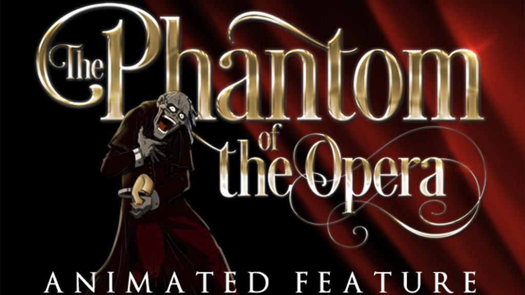 the phantom of the opera animated stage ii script by iluzija animation studio kickstarter. Black Bedroom Furniture Sets. Home Design Ideas