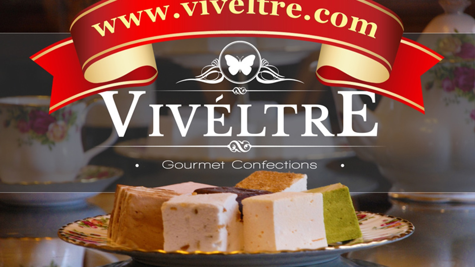 Viveltre Marshmallows are insanely delicious, irresistibly smooth, edible clouds of happiness. Always all-natural, always amazing!