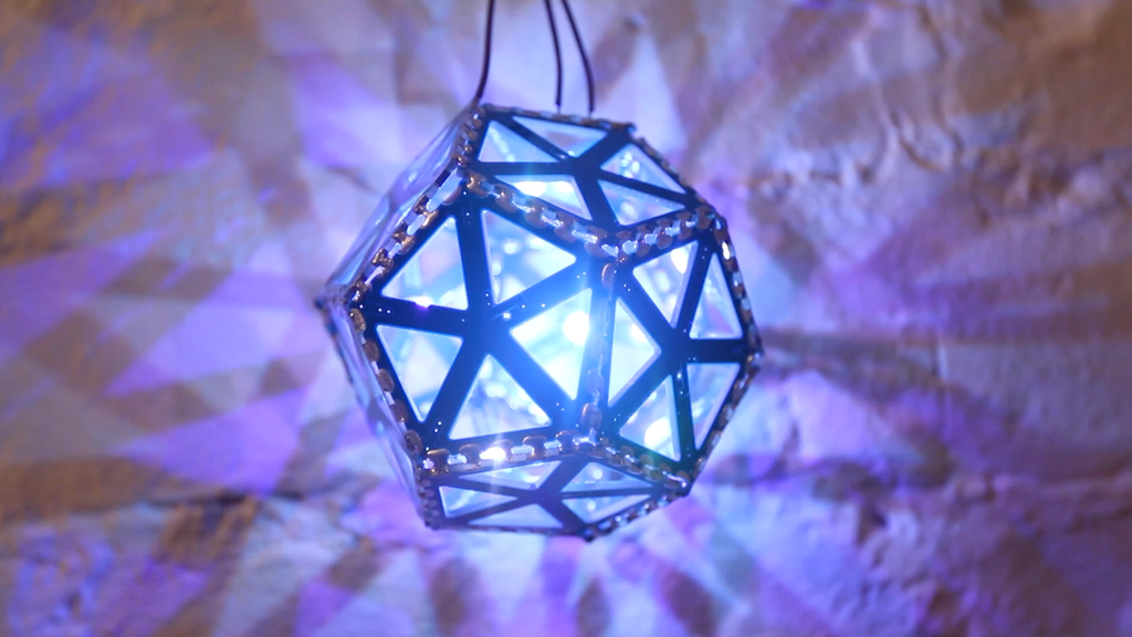 BlinkyTile: Build Your Own Dynamic Light Sculptures project video thumbnail
