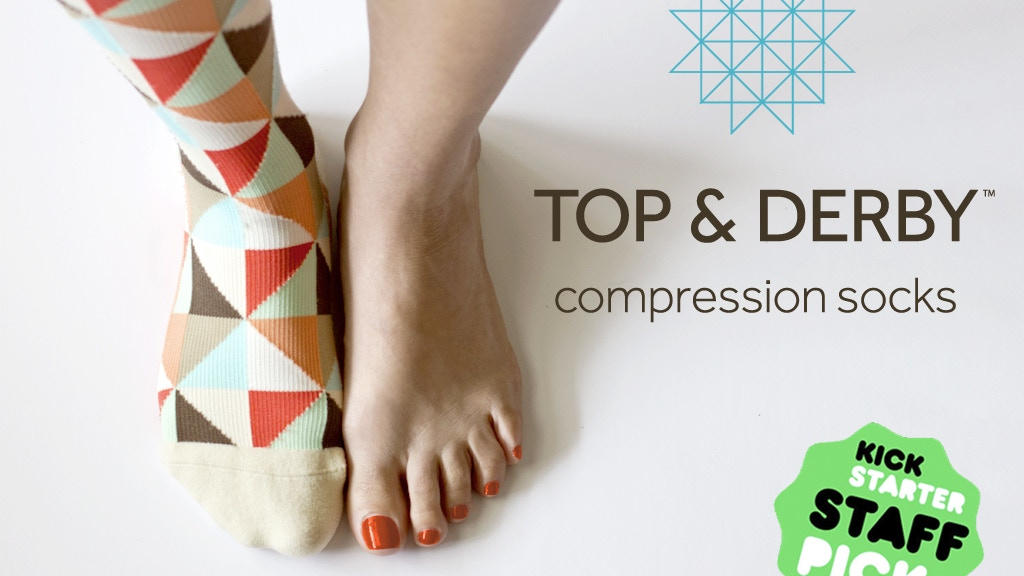 Top & Derby Compression Socks: All style, no stink project video thumbnail