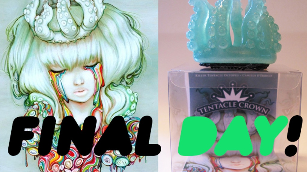 Tentacle Crown project video thumbnail