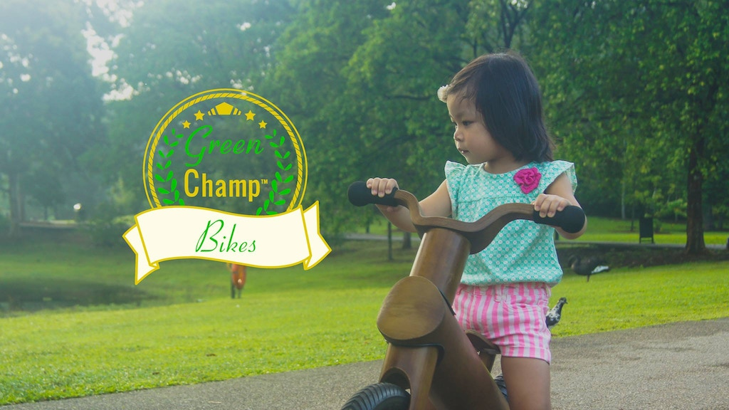 GreenChamp Bikes - Sustainable Bamboo Balance Bikes for Kids project video thumbnail