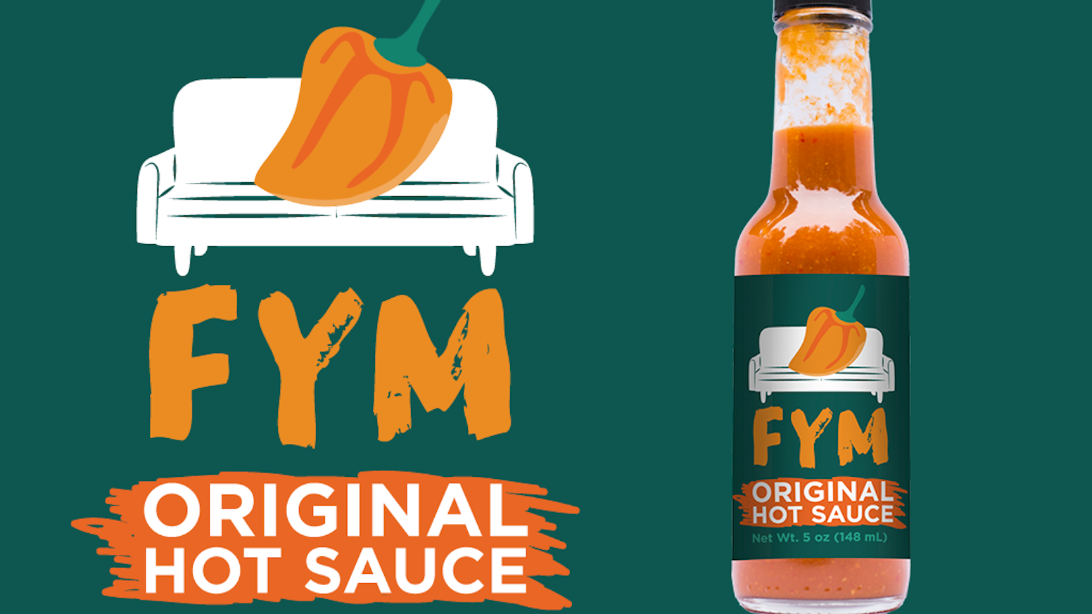 FYM is a very spicy and flavorful premium habanero hot sauce made with fresh ingredients.  It goes great with everything!