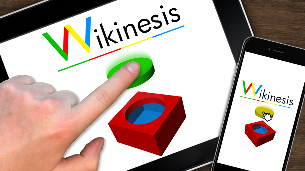 Project image for Wikinesis: Learn by practicing in a 3D app, on the web & VR!