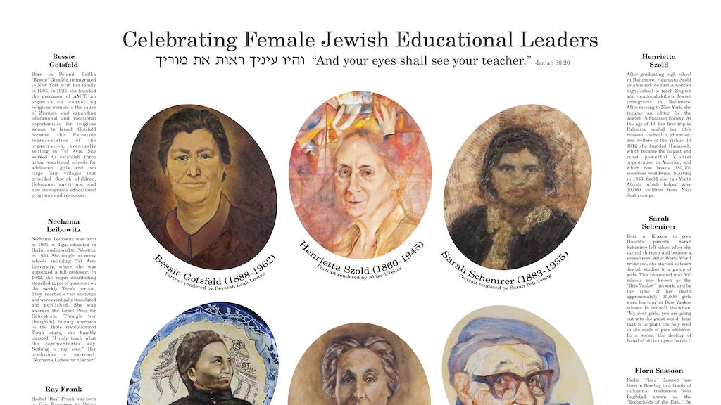Women Scholars Sukkot Poster project video thumbnail
