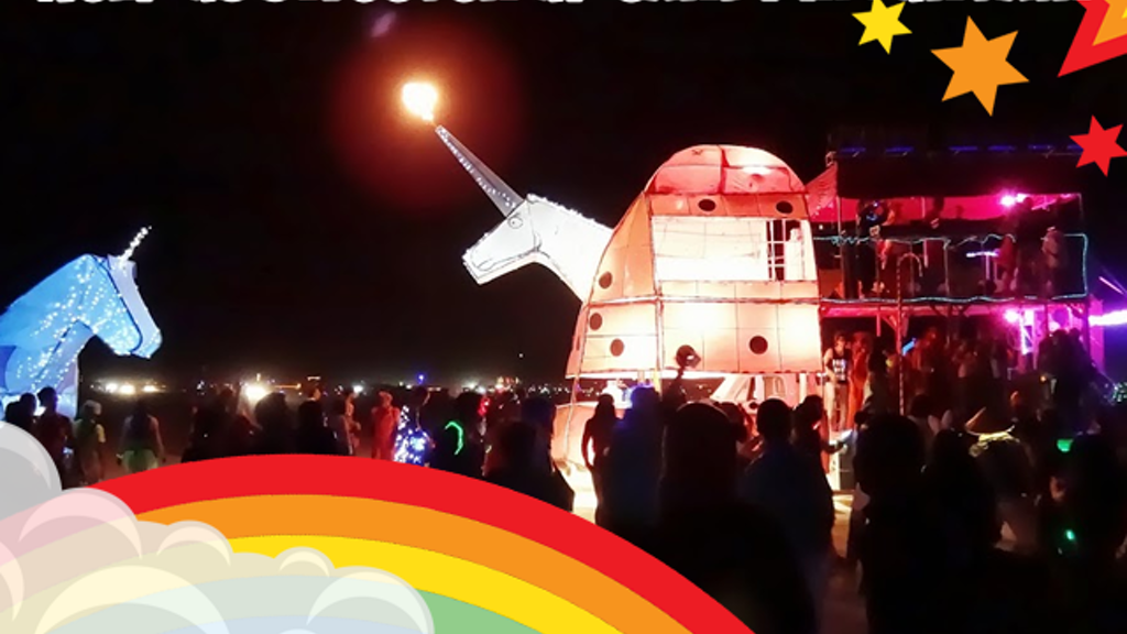 Charlie the Unicorn Art Car: Sweetening Candy Mountain project video thumbnail