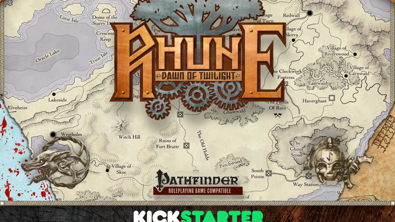 Bringing Stormpunk to the Pathfinder RPG! Inspired by Planescape, the Iron Kingdoms, Tesla, & Norse Myth. Are you ready for Ragnarök?