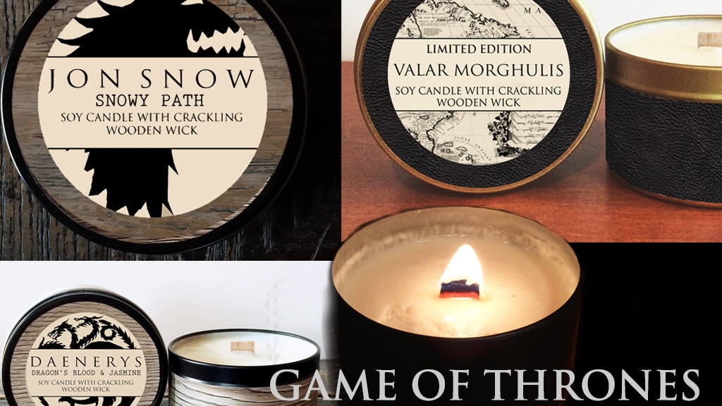 Game of Thrones Inspired Candles project video thumbnail