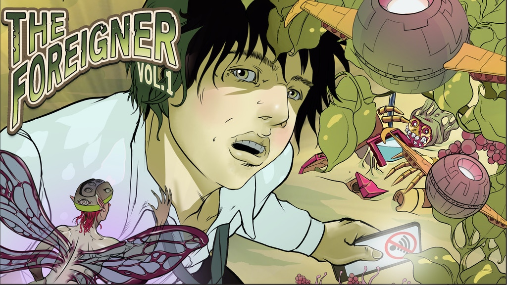The Foreigner, Volume 1 - Graphic Novel project video thumbnail